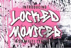 Locked Monster Graffiti Product Image 1