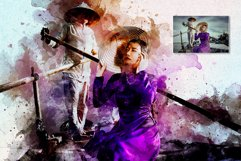 Artistic Watercolor Photoshop action Product Image 9