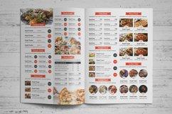 Food Menu Bifold-Trifold Brochure Product Image 4