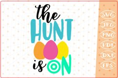 The Hunt Is On SVG Cutting File Product Image 1