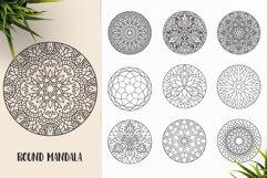 530 Vector Mandala Ornaments Bundle Product Image 28