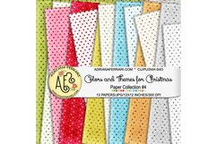 Colors and Themes for Christmas Papers 4 Product Image 1
