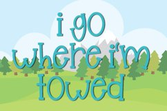 Glampers - A Fun Quirky Mixed Case Font Product Image 2