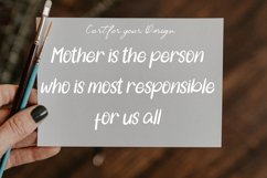Hello Mother | A Special Love Font Product Image 3