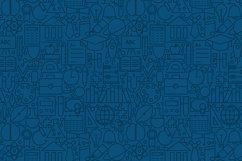 School & Education Line Tile Patterns Product Image 5