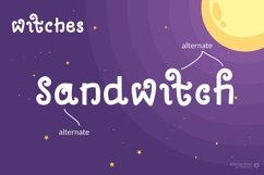 Witches - Spooky Quirky Font Product Image 2