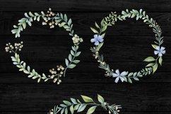 Romantic garden. Watercolor cliparts Product Image 6