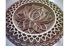 M12 - Lotus Flower Mandala Pattern Product Image 5
