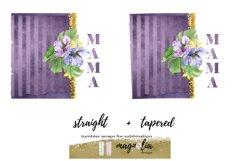 Mama sublimation design Tumbler wrap Skinny tumbler 20 oz Product Image 2