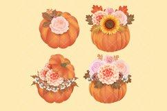 Autumn Flower Clip Art Product Image 5