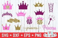 Princess Crown SVG Product Image 1