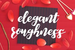 Elegant Roughness Font Product Image 1