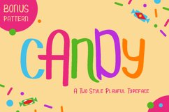 Candy - Kids Font & Pattern Product Image 1