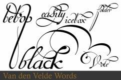 Van Den Velde Words Product Image 5