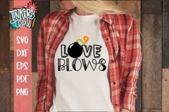 Love Blows Valentine SVG Product Image 1
