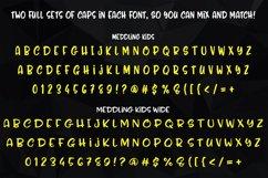 Meddling Kids! - regular and wide alphabets