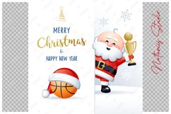 Merry Christmas and Happy New Year. Basketball. Product Image 2
