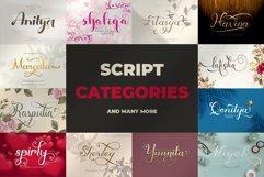 Best Seller Bundle - 174 Font!! The Complete Font Bundles! Product Image 3