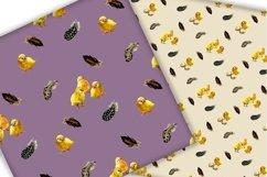 Easter digital paper pack.Vintage pattern. Product Image 2