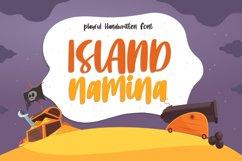 Island Namina - Playful Handwritten Font Product Image 1