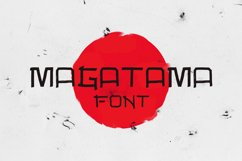 Magatama Font Product Image 1