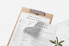 Resume Template Minimalist | CV Template Word - Melanie Product Image 9