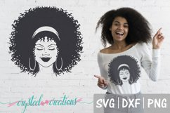 Afro Bundle 5 Different files SVG, DXF, PNG, Afro svg Product Image 6