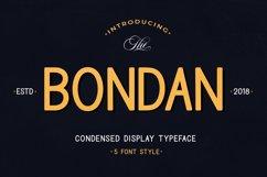 Bondan Typeface Product Image 1