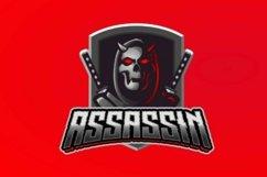 Reaper assassin mascot logo Product Image 2