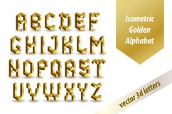 3d Golden Font Product Image 1