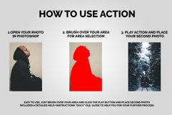 Double Exposure Photoshop Action Product Image 2