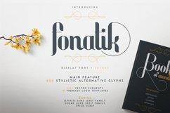 Fonatik Display font Extras Product Image 1