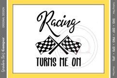 Racing SVG, Racing Turns Me On Product Image 2