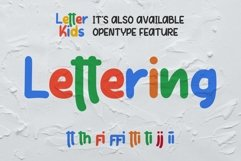 LETTER KIDS Display Fonts Product Image 6