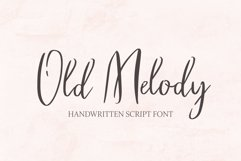 Old Melody Script Font Product Image 1