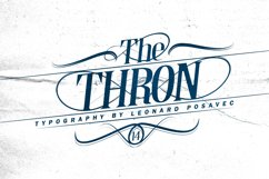Thron Font Product Image 2