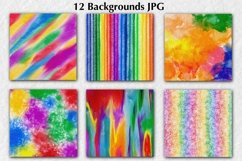 12 Colorful Backgrounds Product Image 5