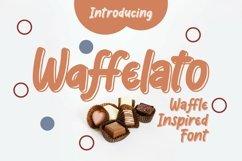 Web Font Waffelato - Inspired Font Product Image 1