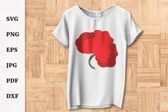Poppy SVG for Remembrance or Anzac Day Cricut file Product Image 4