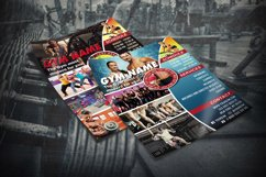 GYM FLYER TEMPLATE | Gym Club Template | Photoshop Template Product Image 3
