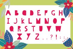 Hello Summer Cutout Font Product Image 4