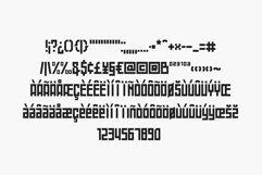 Battlefly Geometric Boxy Typeface Product Image 5