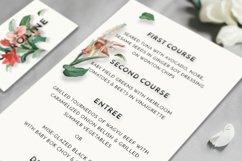 Modern Vintage Floral Wedding Invitation Suite Product Image 4