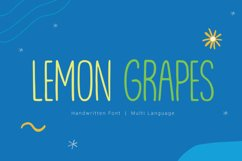 Lemon Grapes Product Image 1
