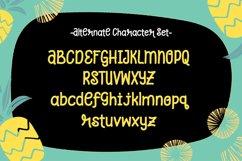 Pineapple Grass || handwritten font Product Image 3