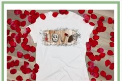 Scary Horror Movie Love PNG for Sublimation Product Image 3