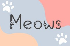 Meows Product Image 1
