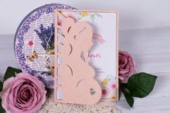Baby Shower Invitation Lovely Pregnancy cutting file Product Image 1