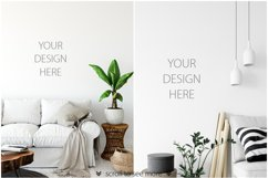 Scandinavian Interior Frames & Walls Mockup Bundle - 2 Product Image 5
