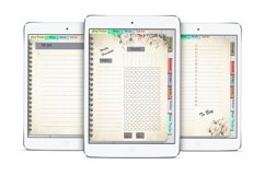 Daily Planner Goodnotes Undated, Hyperlinked,Xodo Product Image 6